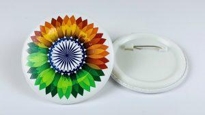 India pin badge