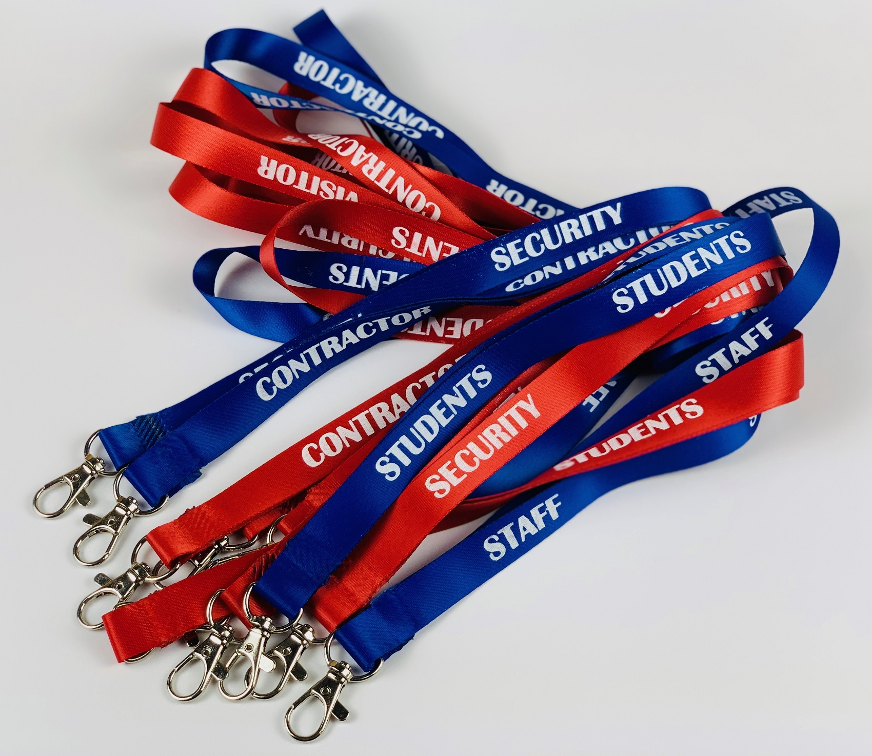 Custom Lanyards with Trigger Hook