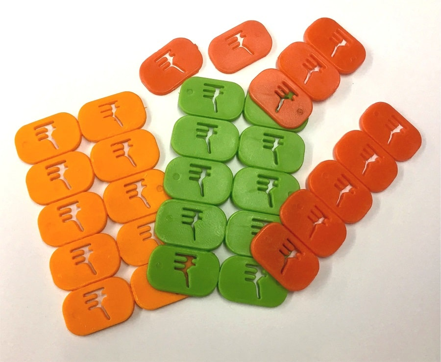 Plastic Currency Tokens